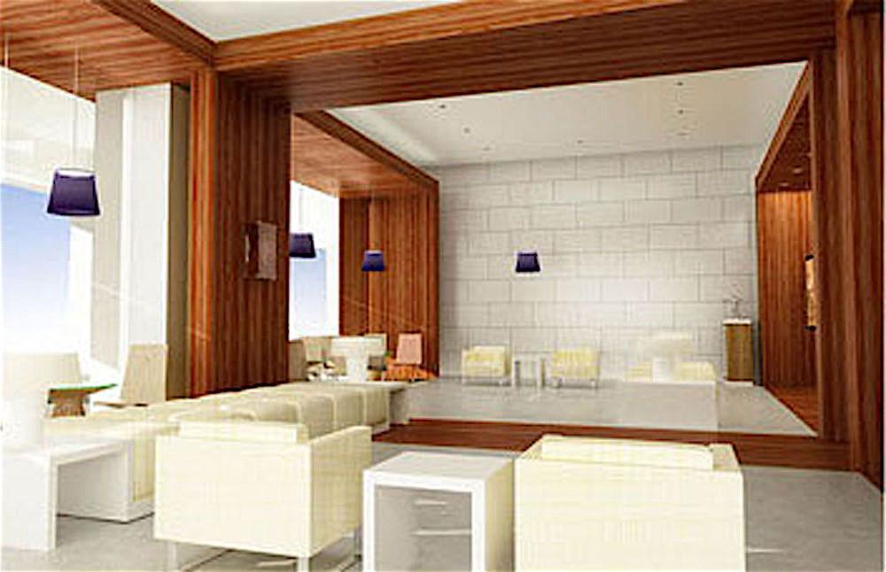 Reception lobby design